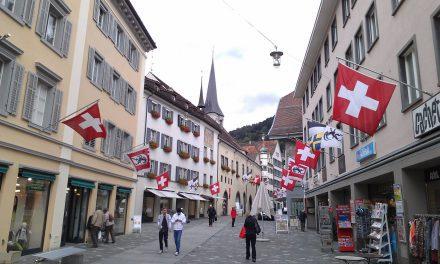 Chur, Zwitserland. Foto Davied van Berlo