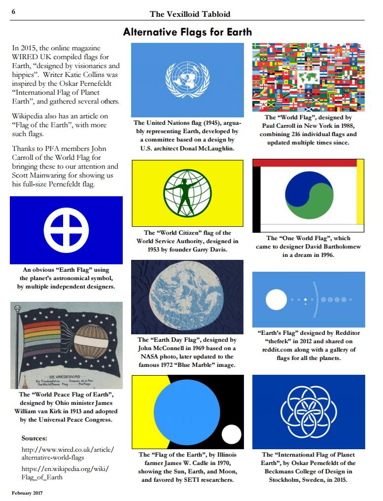 Vlaggen van de aarde