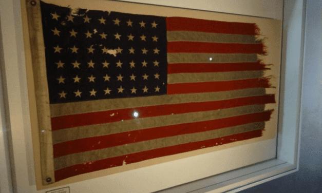 De eerste vlag van D-day is nu in Nederland