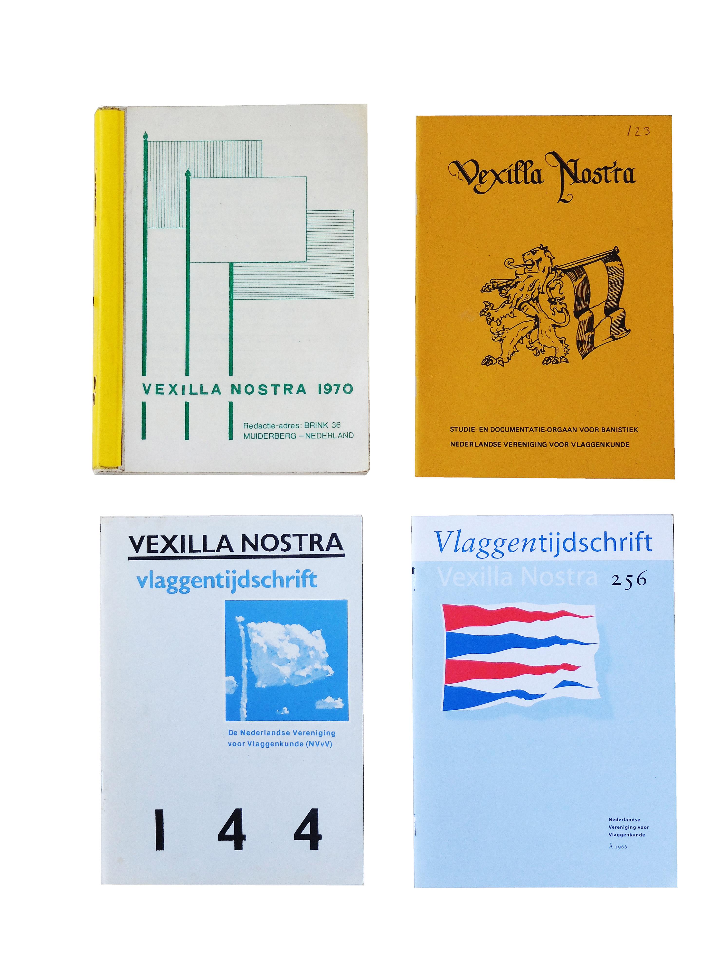 Voorkanten van Vexilla Nostra