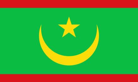 Mauretanië vervangt haar vlag