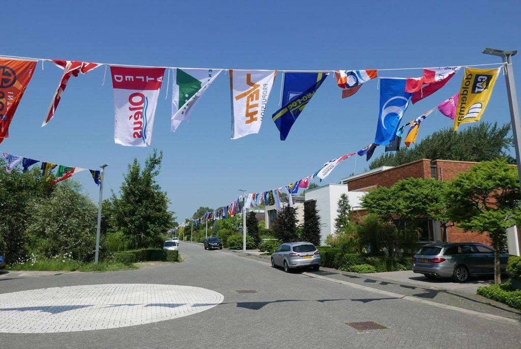 800 vlaggen in Dordrecht