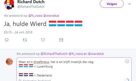 Een vlag op je Twitter-profiel. Waar staat het voor?