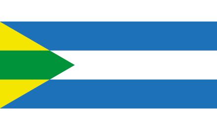 Historische vlag boven Sociëteit De Witte