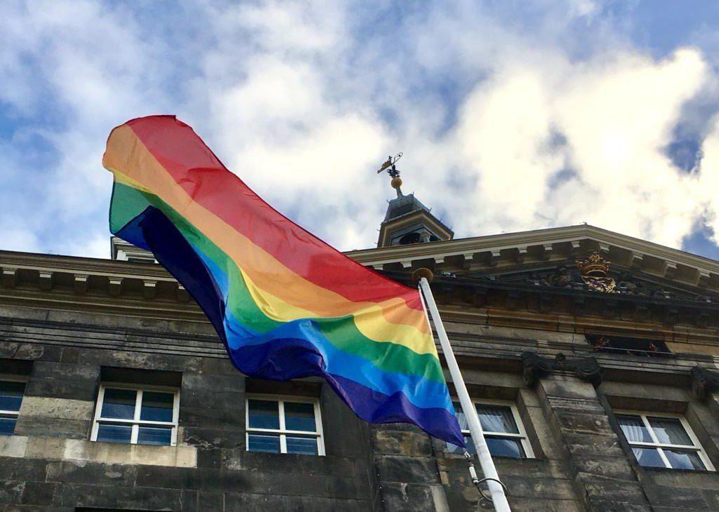 Regenboogvlag Den Bosch